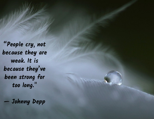 motivational quotes, tear drop