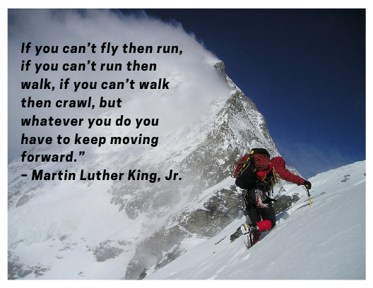 Quote about resilience Martin Luther King Jr.