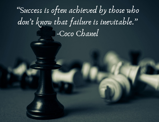 quotes about resilience Coco Chanel