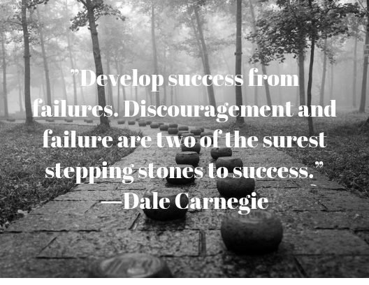 quote about resilience Dale Carnegie