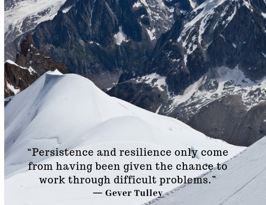 quotes about resilience Gever Tulley