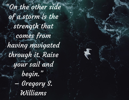 Quote aout resilience Gregory S. Williams