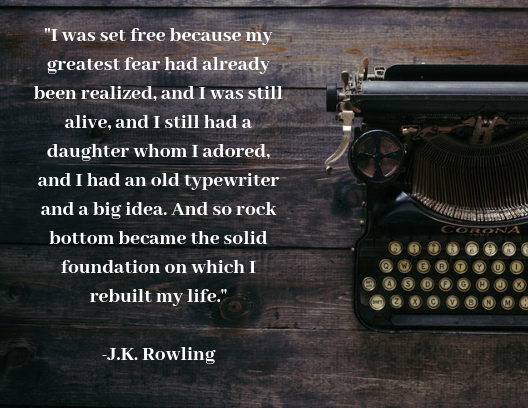 quotes about resilience J.K. Rowling