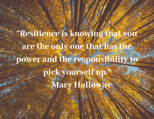 quotes about resilience Mary Holloway