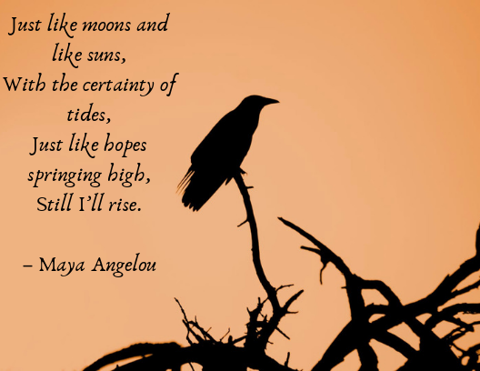 Quotes about resilience Maya Angelou