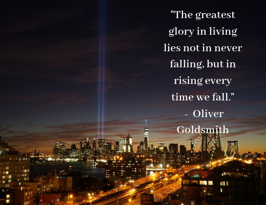 quotes about resilience Olive Goldsmith