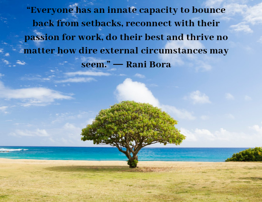 quotes about being resilient Rani Bora