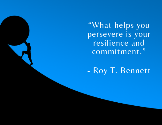 Quote about resilience Roy T. Bennett