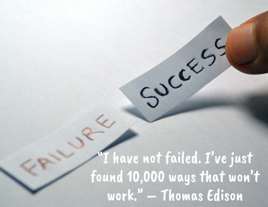 Quotes about resilience Thomas Edison