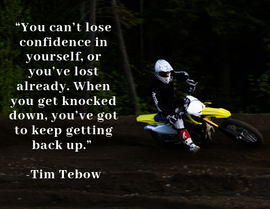 Quote about resilience Tim Tebow