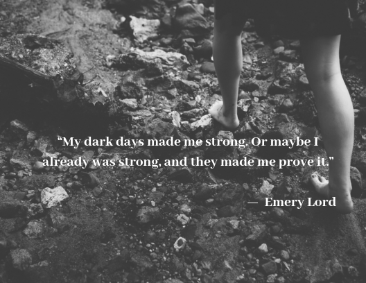 mental health quotes, Emery Lord