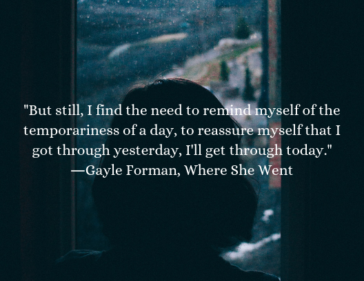 mental health quotes, Gayle Forman