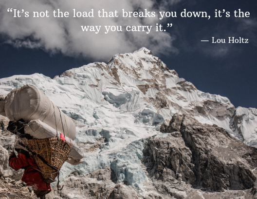mental health quotes, Lou Holtz