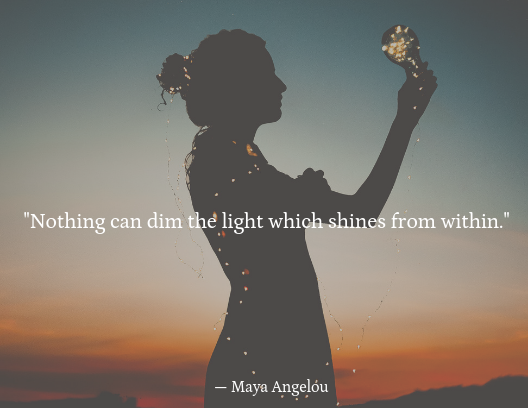 mental health quotes, Maya Angelou