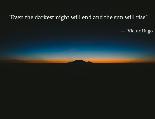 mental health quotes, Victor Hugo
