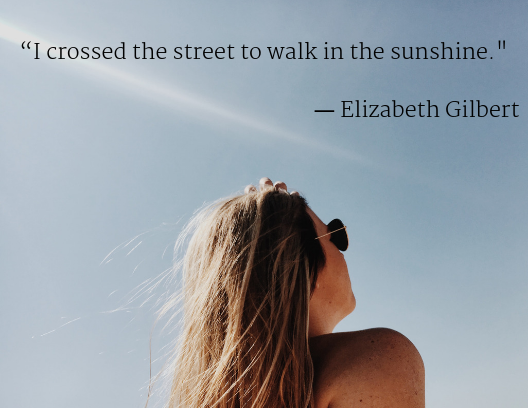 mental health quotes, Elizabeth Gilbert