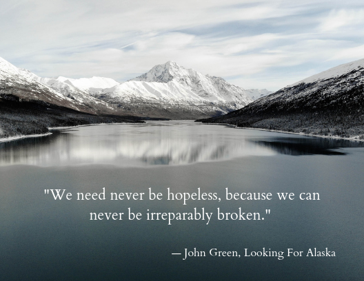 mental health quotes, John Green