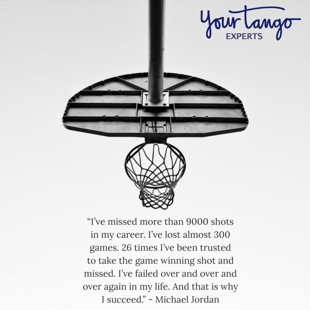 Michael Jordan quote.